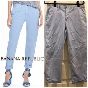 Banana Republic Boyfriend Chinos Sz 8